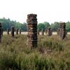 Pillars of time - Piotr Bies - © Stichting Natuurkunst Drenthe
