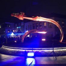 Gigantische replica Zwaard van Oss 3
