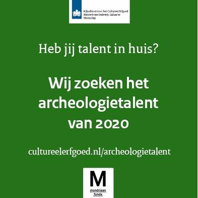 Archeologietalentprijs 2